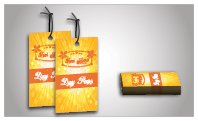 Short Run Full Color Product Hang Tags (sku: 921)